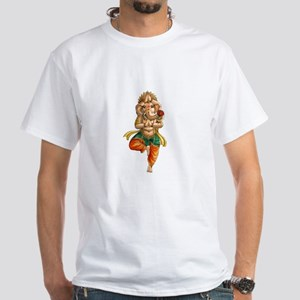 Ganesha White T-Shirt