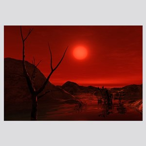 Extrasolar planet Gliese 581 g orbiting a red dwar