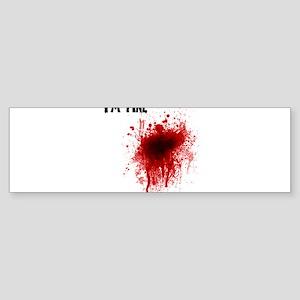 I'm Fine Sticker (Bumper)