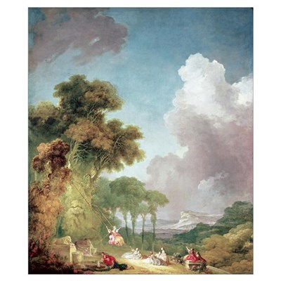 The Swing, c.1765 (oil on canvas) Poster