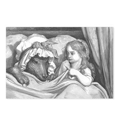 Dore's Red Riding Hood Postcards (Package of 8)