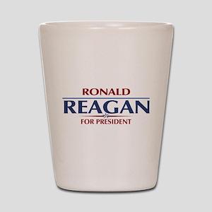 Ronald Reagan President Shot Glass
