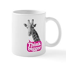 Giraffe - Think bigger Mug