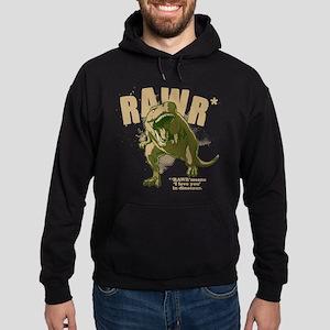 RAWR Dinosaur Hoodie (dark)