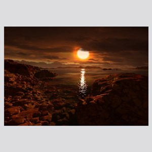 Exoplanet Gliese 581 d