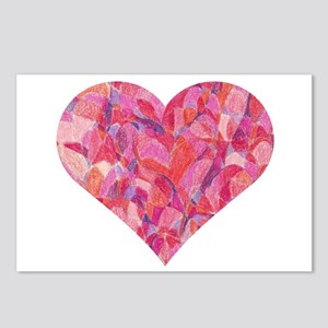 Happy Heart Postcards (Package of 8)