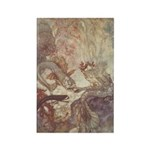 Dulac's Little Mermaid Rectangle Magnet