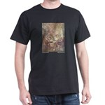 Dulac's Little Mermaid Black T-Shirt