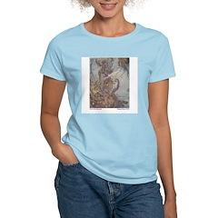 Dulac's Little Mermaid Women's Pink T-Shirt