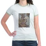 Dulac's Little Mermaid Jr. Ringer T-Shirt