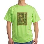 Bilibin's Baba Yaga Green T-Shirt