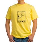 Batten's Black Bull of Norroway Yellow T-Shirt