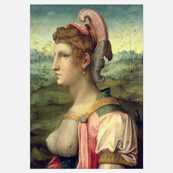 Sibyl, c.1540 (oil on panel)