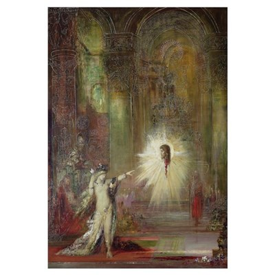 The Apparition (oil on canvas) Framed Print