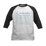 Cinderella Around the World Kids Baseball Jersey