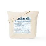 Cinderella Around the World Tote Bag