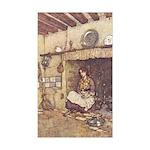 Dulac's Cinderella Rectangle Sticker