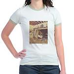 Dulac's Cinderella Jr. Ringer T-Shirt