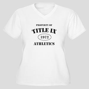 Title IX Women's Plus Size V-Neck T-Shirt