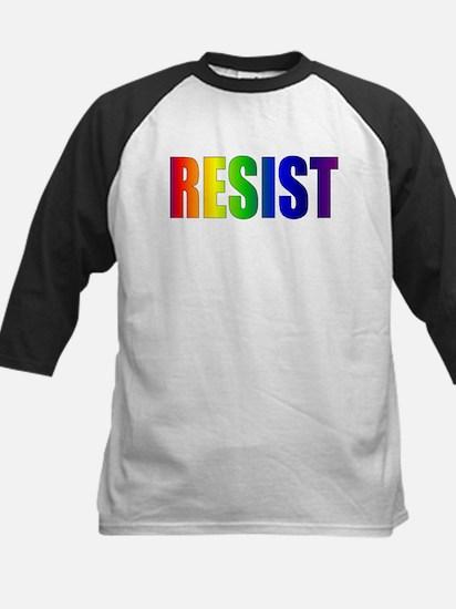 Rainbow Resist Trump Baseball Jersey