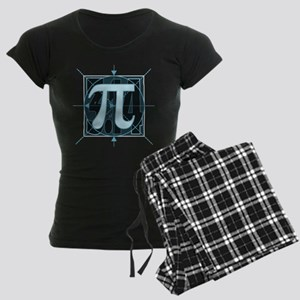 Pi Sign Drawing Women's Dark Pajamas