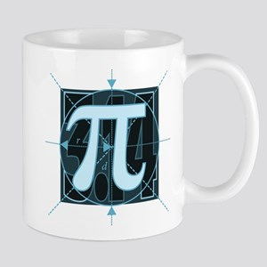 Pi Sign Drawing Mug