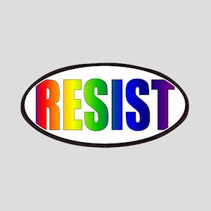 Rainbow Resist Trump Patch
