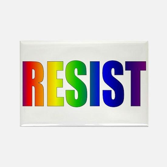 Rainbow Resist Trump Magnets