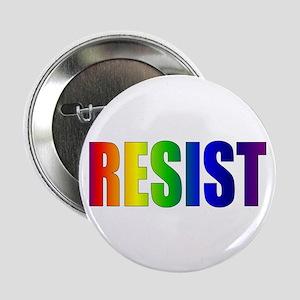 "Rainbow Resist Trump 2.25"" Button"