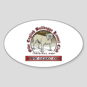 OEBKC Oval Sticker