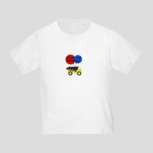 Customized Construction Truck Toddler T-Shirt