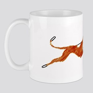 Leaping Ibizan Hound Mug