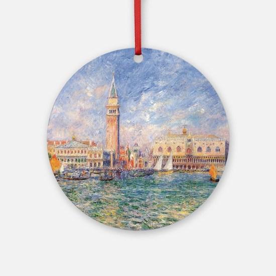 Cute Venice Round Ornament