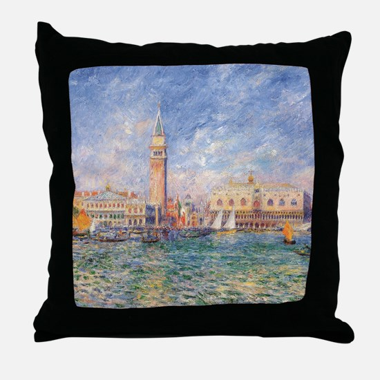 Cute Venice Throw Pillow