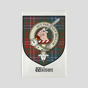 Wilson Clan Crest Tartan Rectangle Magnet (10 pack