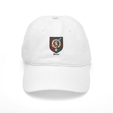 Wilson Clan Crest Tartan Cap