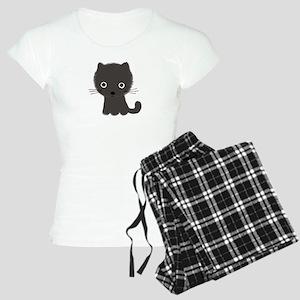Grey Kitty Women's Light Pajamas