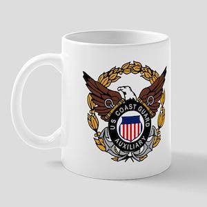 USCG Auxiliary Image<BR> 11 Ounce Mug