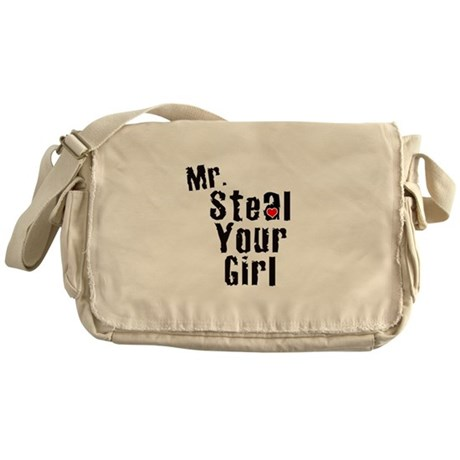 Mr. Steal Your Girl Messenger Bag