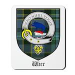 Wier Clan Crest Tartan Mousepad
