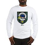 Wier Clan Crest Tartan Long Sleeve T-Shirt