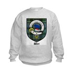 Wier Clan Crest Tartan Kids Sweatshirt