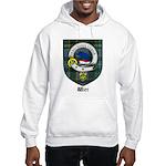 Wier Clan Crest Tartan Hooded Sweatshirt