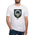 Wier Clan Crest Tartan Fitted T-Shirt