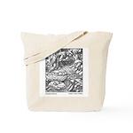 Crane's Sleeping Beauty Tote Bag
