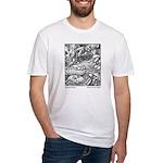 Crane's Sleeping Beauty Fitted T-Shirt