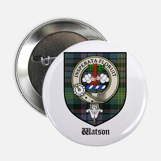 "Watson Clan Crest Tartan 2.25"" Button (10 pack)"