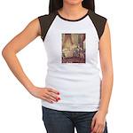 Dulac's Sleeping Beauty Women's Cap Sleeve T-Shirt