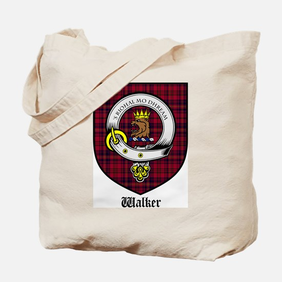 Walker Clan Crest Tartan Tote Bag