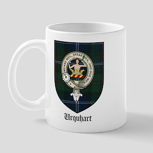 Urquhart Clan Crest Tartan Mug